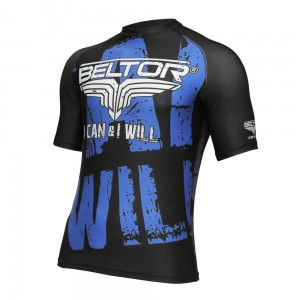 BELTOR Rashguard MMA 'I Can & I Will'