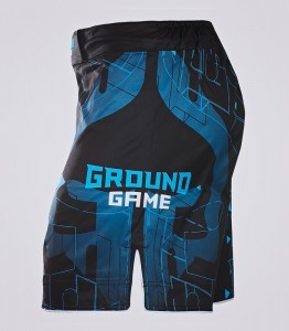GROUND GAME Spodenki MMA Shapes
