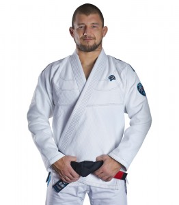 GROUND GAME Kimono do BJJ Player Białe (550g)