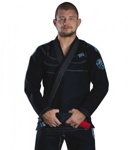 GROUND GAME Kimono do BJJ Player Czarne (550g)