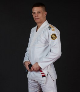 GROUND GAME Kimono do BJJ Champion 2.0 Białe (350g)