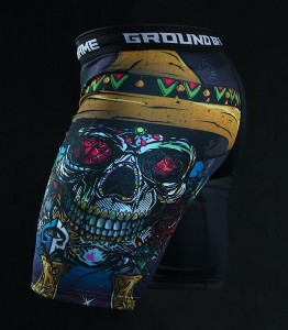 GROUND GAME Spodenki Vale Tudo Mexican Skull