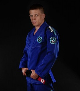 GROUND GAME Kimono do BJJ Balance 3 Niebieskie (450g)