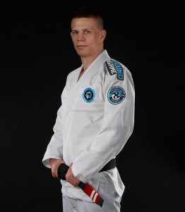 GROUND GAME Kimono do BJJ Balance 3 Białe (450g)