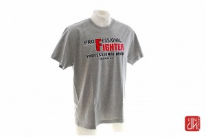 Professional Fighter T-Shirt Classic Szary