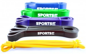 SPORTS ST Zestaw 5 Gum Treningowych Power Band