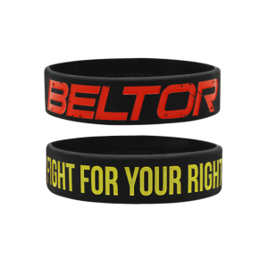 BELTOR Opaska Wristband - Fight for your right