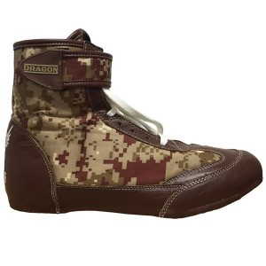 DRAGON Buty Bokserskie Za Kostkę CAMO (Model A)