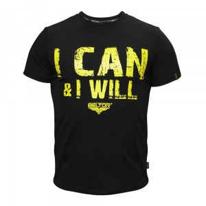 BELTOR T-shirt I can & I will (Slim Fit)