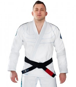 GROUND GAME Kimono do BJJ Inceptor 3.0 Białe