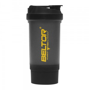 BELTOR Shaker 500ml (dwukomorowy)