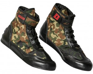 DRAGON Buty Bokserskie Za Kostkę CAMO (Model B)