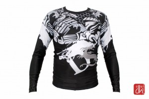 DRAGON Rashguard MMA Iron Fist