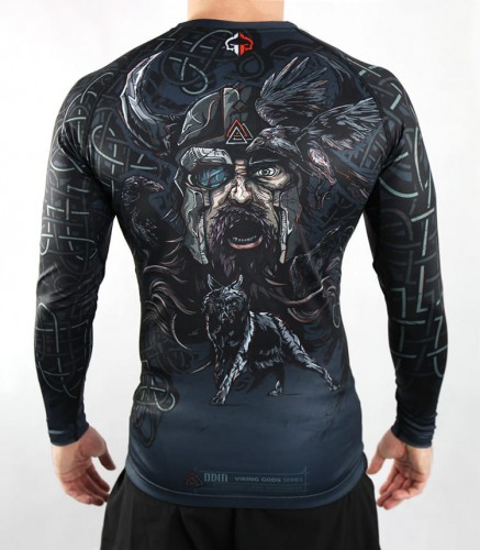 GROUND GAME Rashguard MMA Odyn