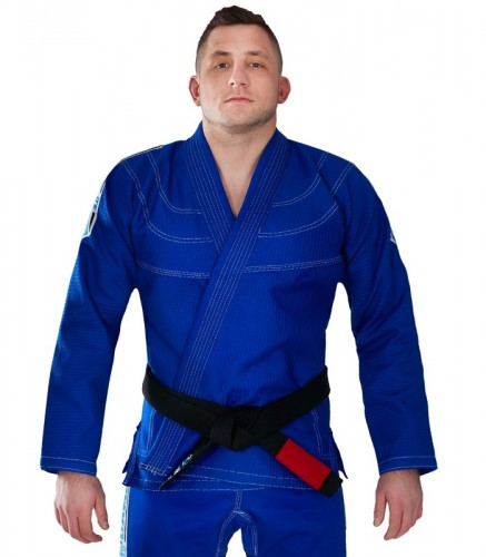 GROUND GAME Kimono do BJJ Inceptor 3.0 Niebieskie