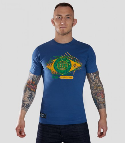 GROUND GAME T-shirt BJJ Flag